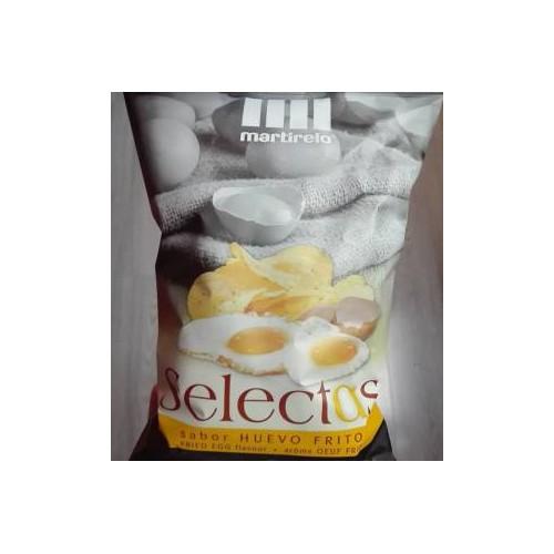Caja patatas con sabor a huevo frito