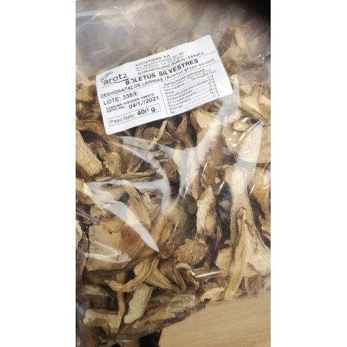 Bolsa de Boletus silvestres Arotz 400 gr