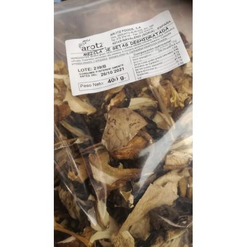 Bolsa de mezcla de setas deshidratadas 400 gr