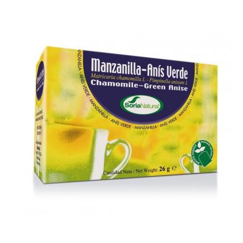 Manzanilla con anís verde infusión