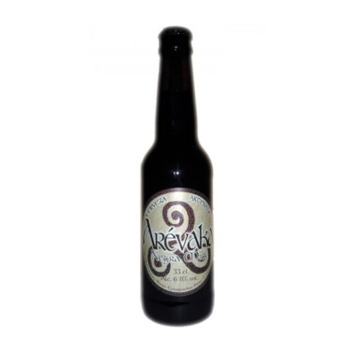 Cerveza Arevaka Negra Miel