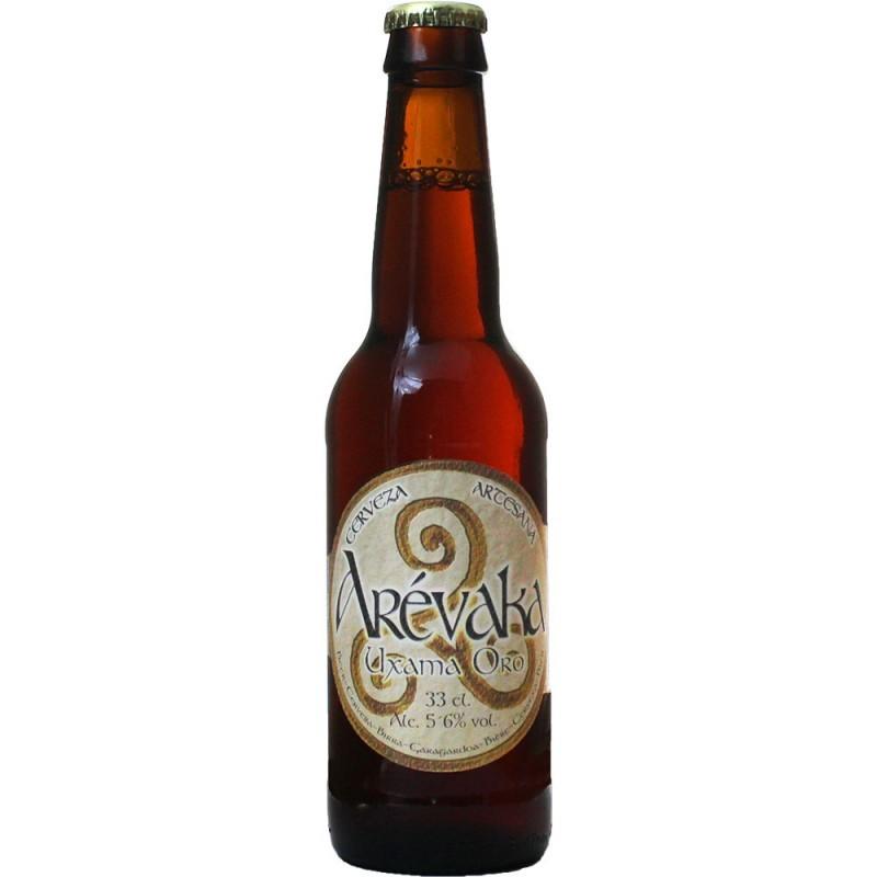 Cerveza Arevaka Uxama Oro
