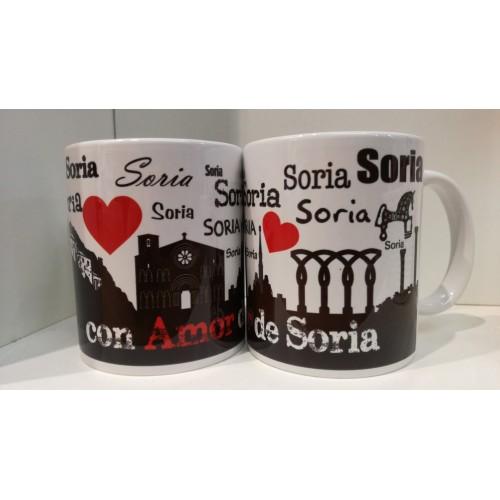 Taza con amor de Soria