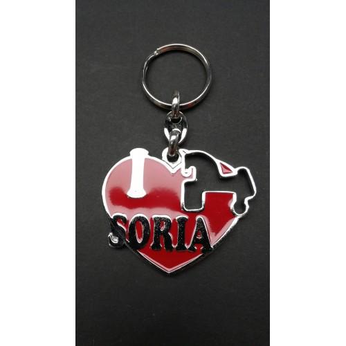 Llavero Love Soria
