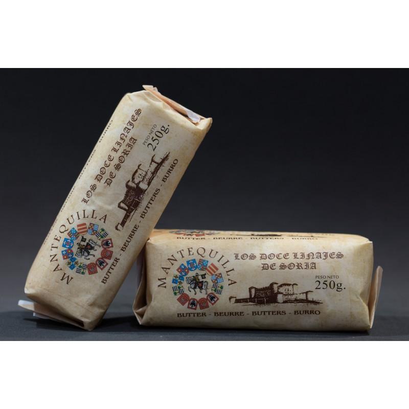 Rulo de mantequilla natural Los doce linajes de Soria