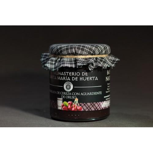 Mermelada de cerezas con aguardiente de orujo
