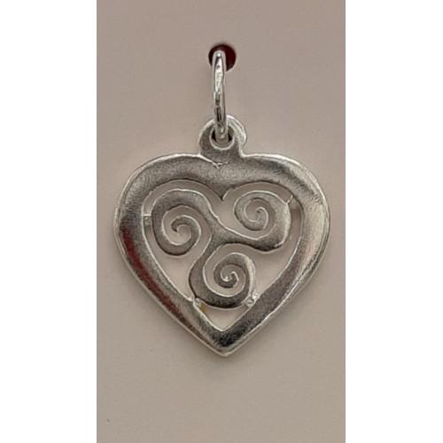 Colgante triskel corazón R/610432