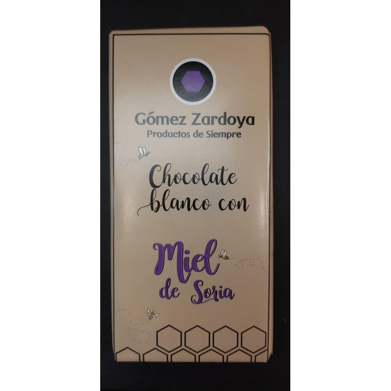Chocolate blanco con miel de Soria
