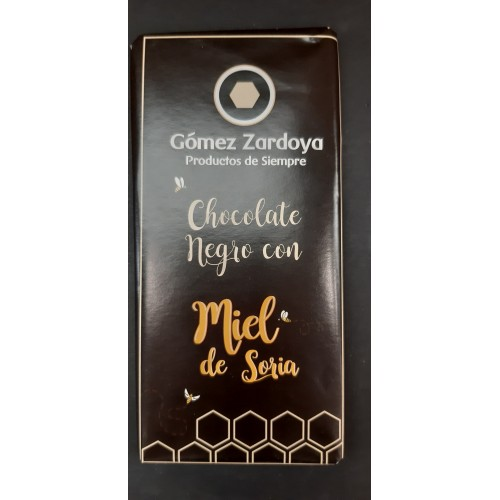 Chocolate negro con miel de Soria