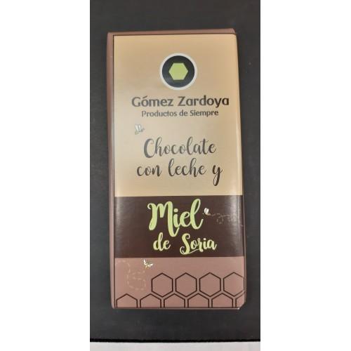 Chocolate con leche y miel de Soria
